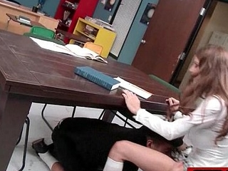 Sucking and fucking at school - Big Tits 06