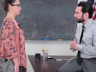 InnocentHigh - SchoolGirl Pretends Fucks Their way Acquittal Of Trouble