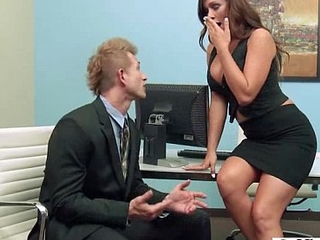 (destiny dixon) Busty Hot Office Slut Girl Love Hardcore Intercorse clip-08