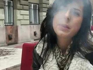 Public Hardcore Sex For Money Regarding Sweet Teen Euro Chick 11