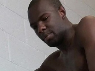 Muscular Black Gay Dude Fuck Vapid Skinnt Boy Hard 16