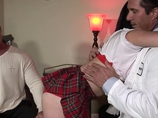 Dad And Lassie Fuck Family Doctor