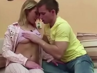 Bro Seduce Step-Sister to First Have sexual intercourse When Mom plus Dad Away