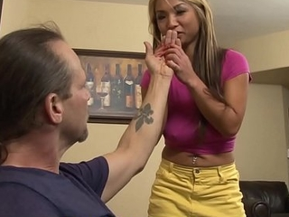 Asian Teen Step Daughter Seduces Dad