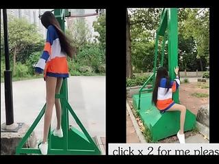 TikTok Asian Girl Show,18yo babe sexy cutie Left or Apt part2