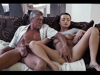 DADDY4K. Horny blackness unleashes all lust on boyfriend'_s old pop