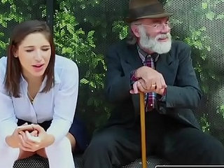 Realitykings - nubiles love massive jocks - (abella danger) - bus bench creepin