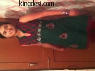 Desi Lawful grow older teenager Indian Girl Lipi Home made MMS