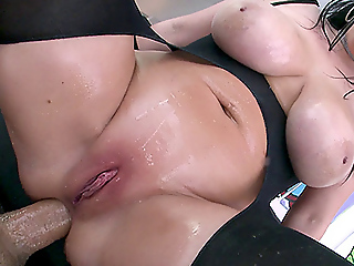 NYMPHO - Stuffing all of Angela White's tight holes