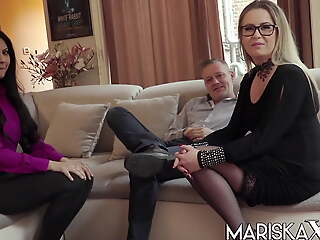 MARISKAX Mariska joins a hot swinger bracket