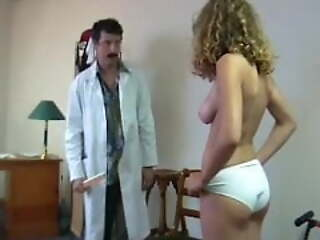 ENF CMNF nude delicate examination by doctor in hospital