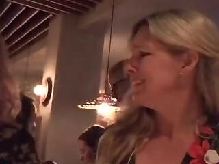 Blonde Married Reporter Anna Brolin Unjust At Swingers Party