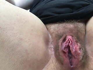 Hairy fertile in pussy