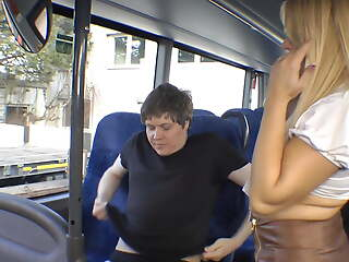 Fucked in the bus