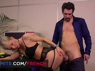 French grown-up gets fucked in the ass in the place