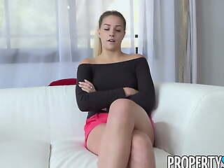 PropertySex, Go ashore Agent Makes Porno With Client