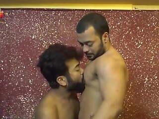 Desi threesome, Friend & stepmom have romance