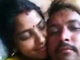 Desi village husband plus wife enjoying sex suffer