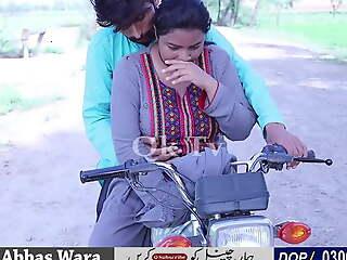 Sadaf aunty bike ride – very hot bbw aunty