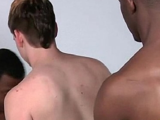 White Twink Get His Tight Ass Fucke By Black Gay Dude - BlacksOnBoys 25