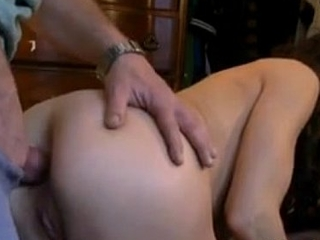 sdruws2 - cute gf fucked in the ass dovetail eating cum