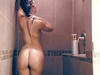 Sexy Girl Dancing and Shower
