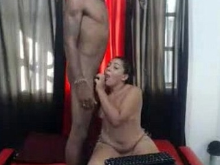 chubby white latina fucked by 2 black dudes